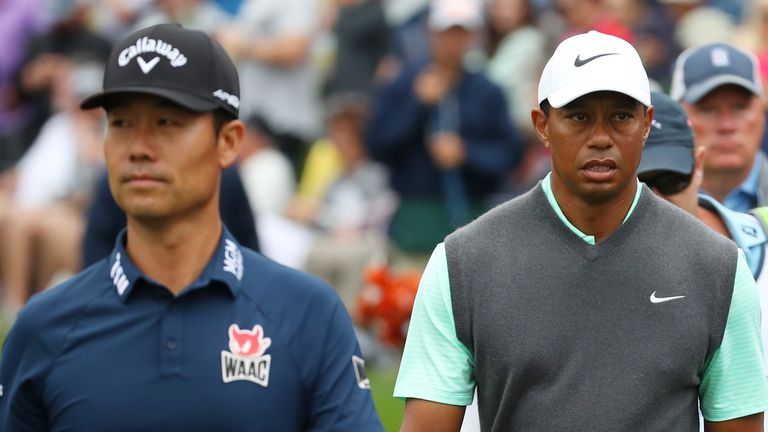 Kevin Na insisted he 'heard rumours' about Woods being captain in 2022