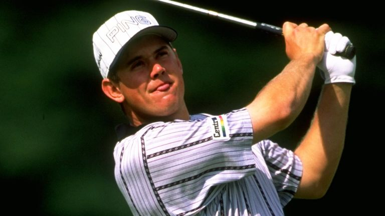 Lee Westwood was an English Open champion at Hanbury Manor in 1998