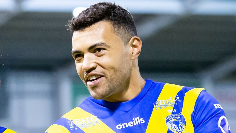Luther Burrell has featured five times for Warrington so far in 2020