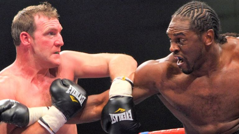 Martin Rogan defeated Olympic gold medallist Audley Harrison in 2008