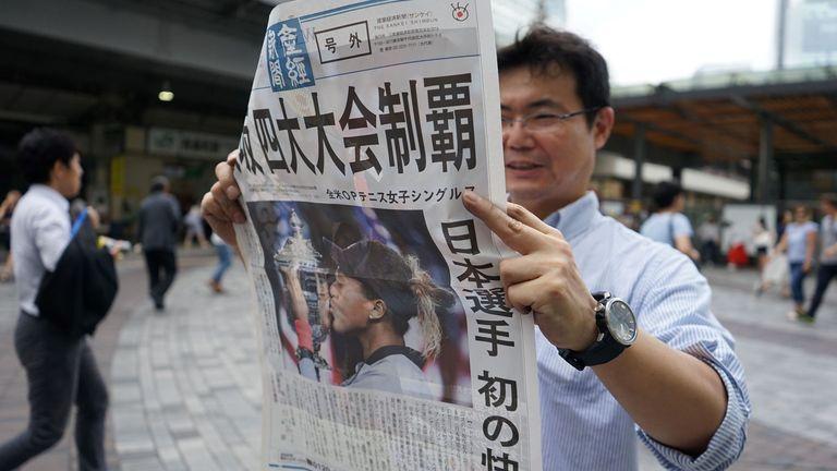 Osaka is big news in Japan