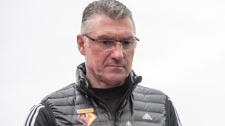 Nigel Pearson took charge of Watford in December on a short-term deal until the end of the season