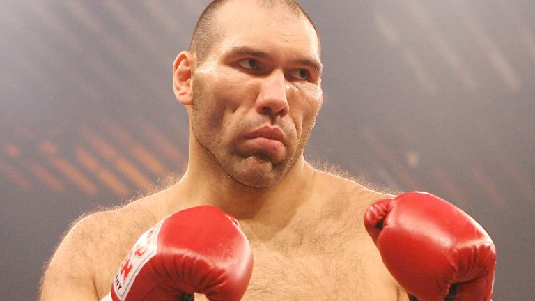 Valuev was seven-feet tall and 23 stone