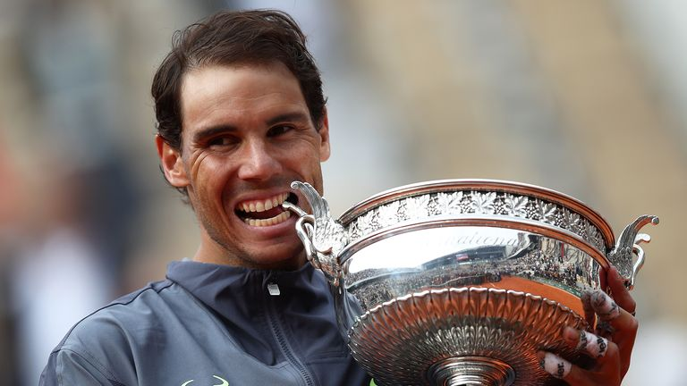 Rafael Nadal will be looking for his 13th French Open men's singles title