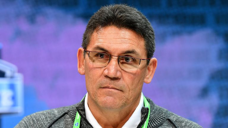 The Washington Redskins were the only side to hire a minority coach this off-season when they appointed Ron Rivera