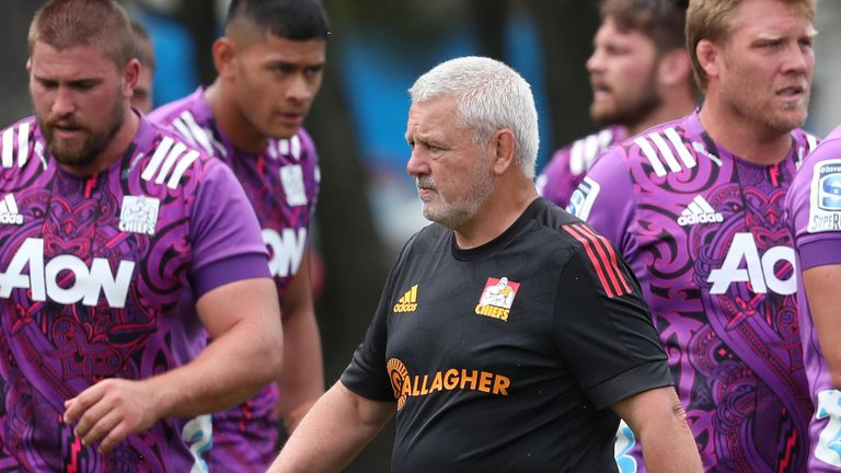 Warren Gatland and the Chiefs are set to resume training