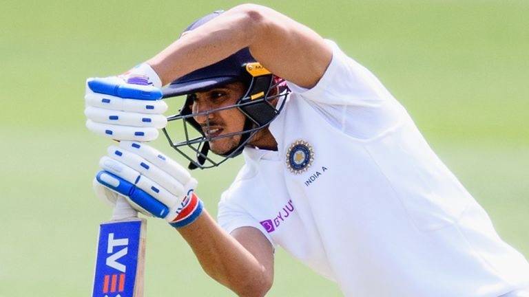 Gill has scored 2,133 runs in 21 first-class matches with seven centuries