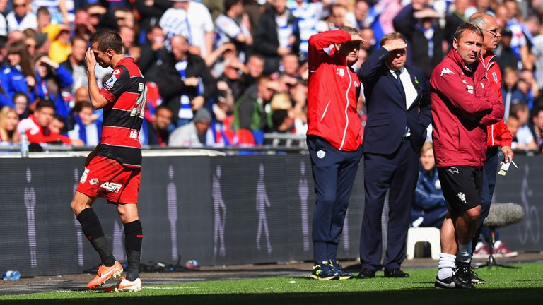 Gary O'Neil still remembers QPR manager Harry Redknapp not acknowledging him immediately after the red card