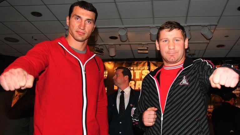 Sultan Ibragimov faced Wladimir Klitschko in a world title unification clash