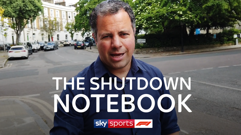 Sky F1's Ted Kravitz is back with the first Notebook of 2020, as he looks at each of the drivers during this unprecedented lockdown period and digests the huge news that Sebastian Vettel and Ferrari will part ways at the end of this year.