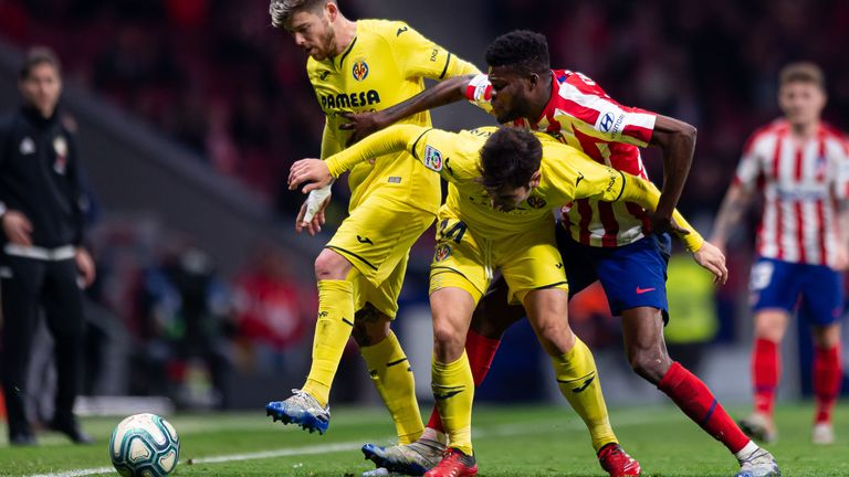 The 26-year-old midfielder is renowned at Atletico for breaking up the play