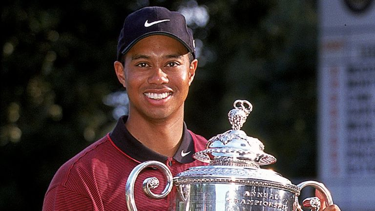 Woods' win in 1999 was his second major title
