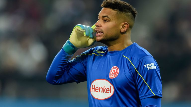 Zack Steffen has been a high point for Dusseldorf in goal