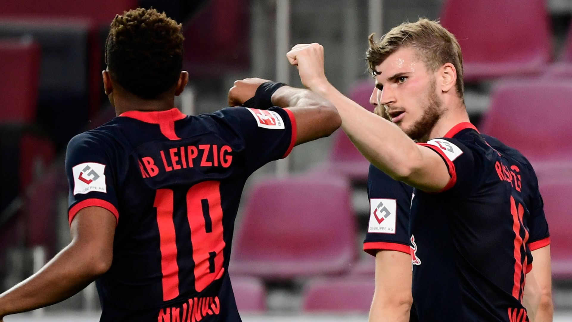 Werner on target as Leipzig return to third - sky sports