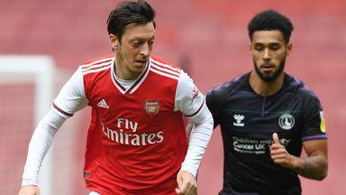 fifa live scores - Premier League restart: Arsenal thrash Charlton in friendly as clubs step up return