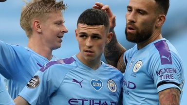 Foden starts for City, Liverpool unchanged