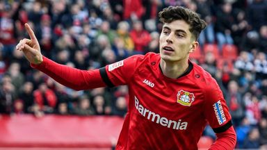 Chelsea lead Havertz chase, but not willing to pay £90m