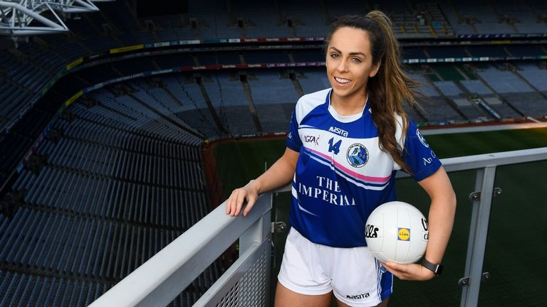 Sheridan is looking forward to getting back into ladies football action, after a stint in Australia