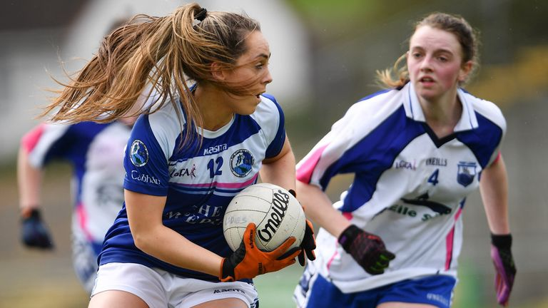 Sheridan in action for the Breffni County
