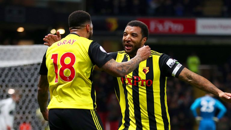 Gray's team-mate Troy Deeney has also spoken about how football can do more to help tackle racism