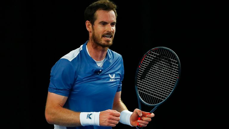 Andy Murray made a surprise guest appearance in which he spoke to young tennis players
