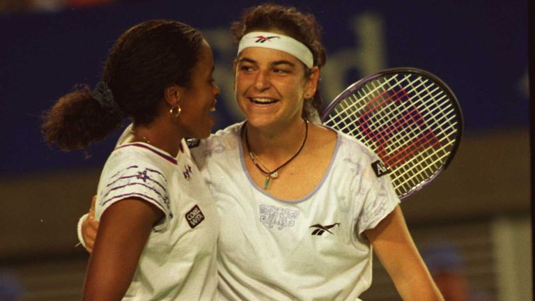 Rubin won the Australian Open women's doubles title alongside Arantxa Sánchez Vicario