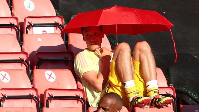 Will Mesut Ozil feature?
