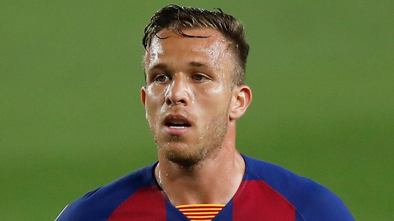 Arthur is set to earn £4.5m (€5m) per year at Juventus