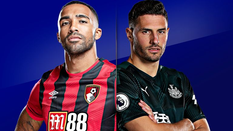Bournemouth vs Newcastle is live on Sky Sports