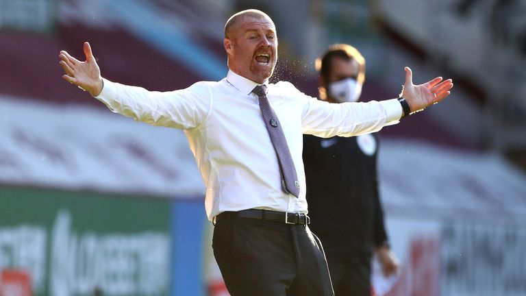 Burnley boss Sean Dyche says the club will be adopting a different approach in the transfer market this summer
