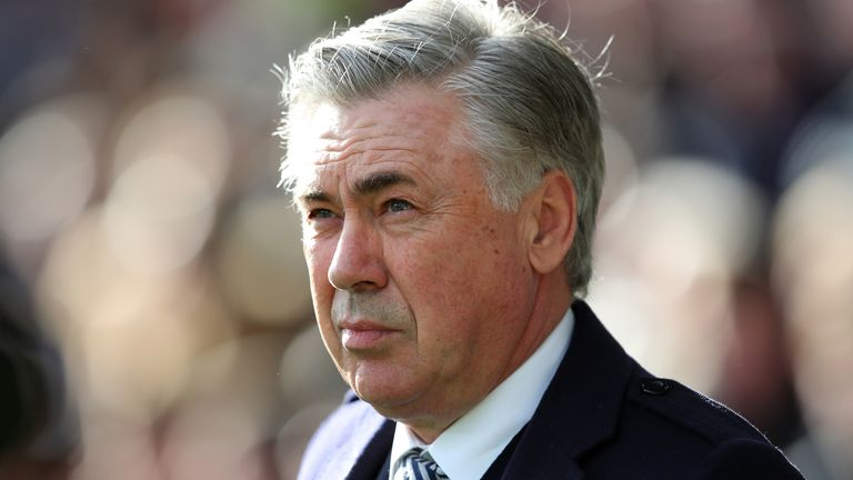 Carlo Ancelotti says Everton need to win their three home games and pick up another victory on the road