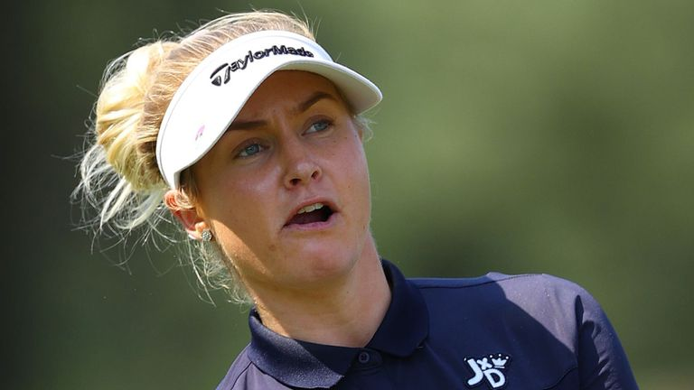 Hull is staying in the UK instead of returning to the US for the resumption of the LPGA Tour