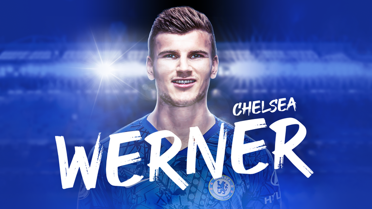Timo Werner has completed his move to Chelsea