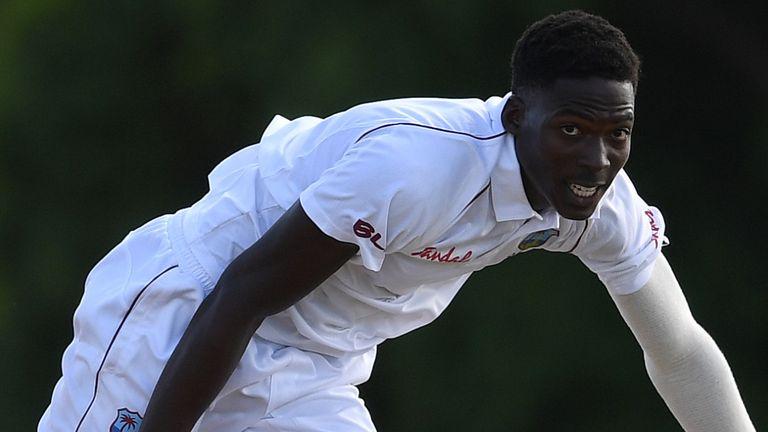 West Indies seamer Chemar Holder could make his Test debut in England