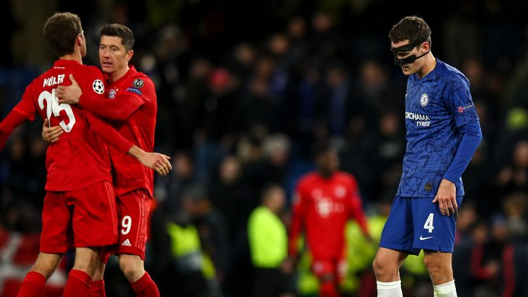 Christensen was part of the Chelsea side that lost 3-0 at home to Bayern Munich before lockdown
