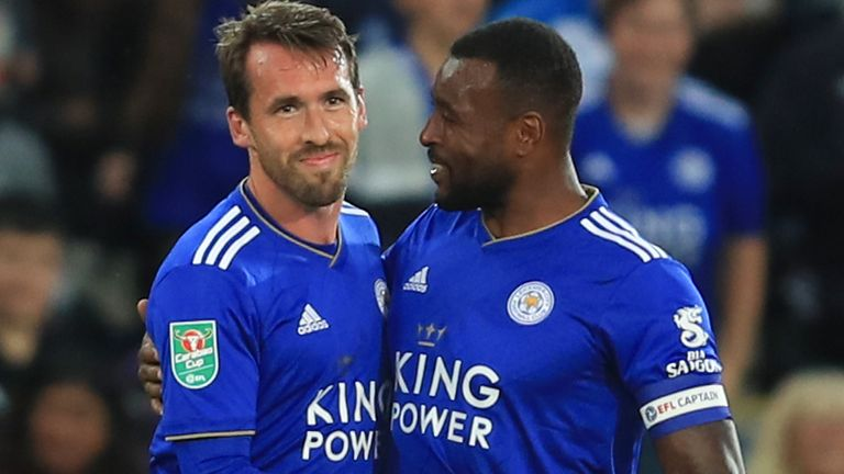 Christian Fuchs and Wes Morgan have agreed to stay at Leicester next season
