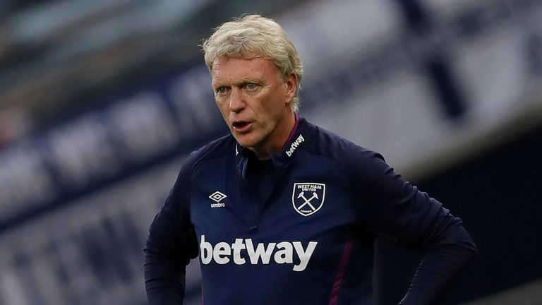 David Moyes says West Ham have faced two Champions League-quality teams since the season resumed