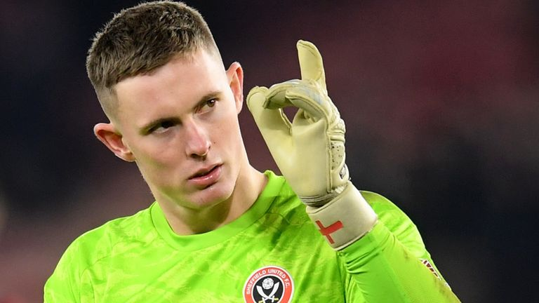 Henderson has kept 11 clean sheets for Sheffield United in the Premier League this season