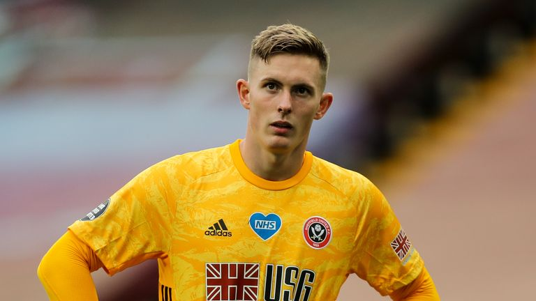 Schmeichel hopes Dean Henderson can continue to develop on loan at Sheffield United