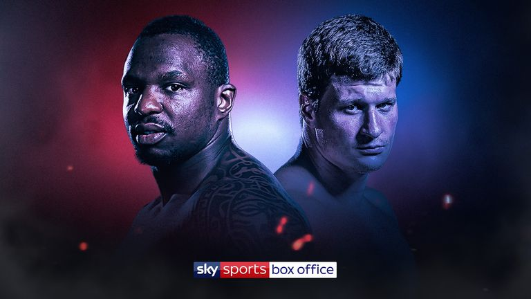 Dillian Whyte vs Alexander Povetkin, live on Sky Sports Box Office, August 22