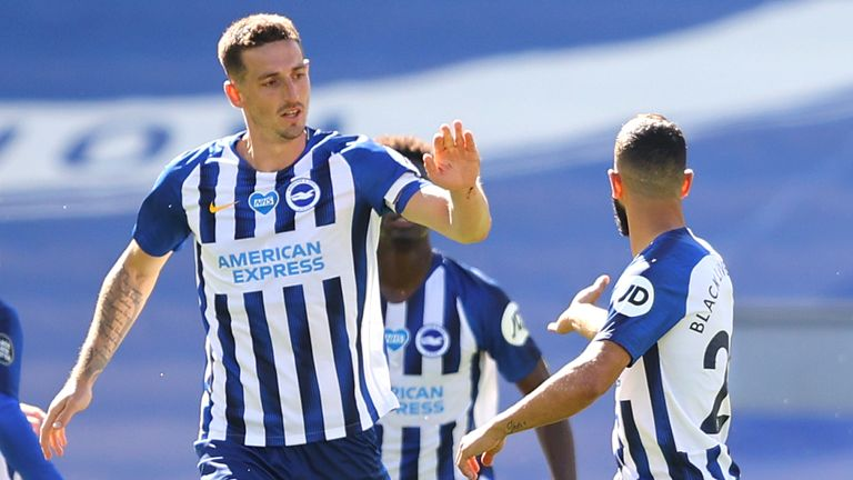 Lewis Dunk was voted Brighton's Player of the Season for 2019/20