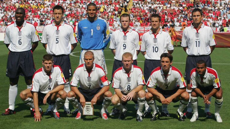 England were one of the favourites going into the tournament with their 'golden generation'
