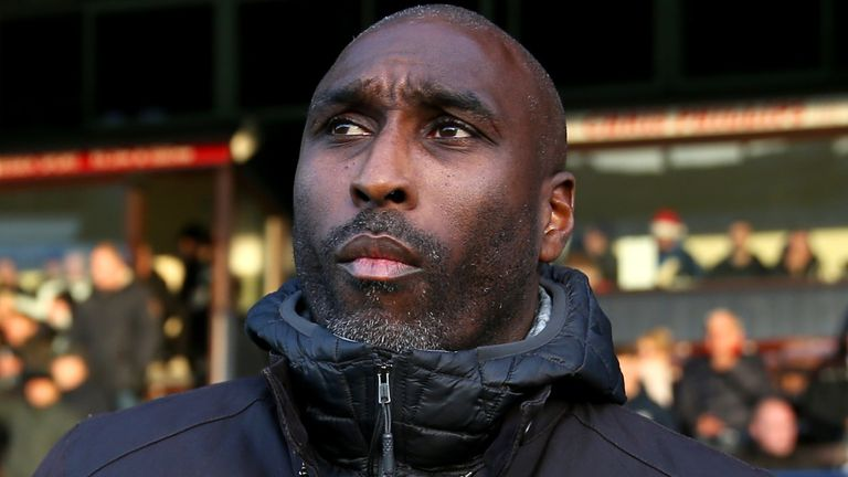 Sol Campbell says it is key that people are now taking notice to online abuse suffered by players