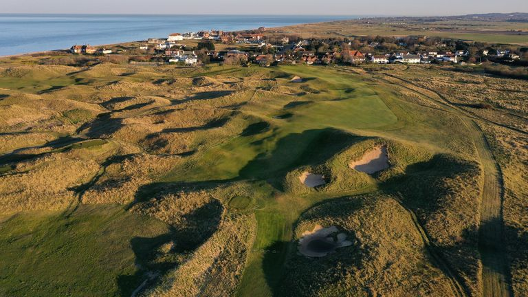 Royal St George's Golf Club, which would have hosted The Open next month before it was postponed, is among the host courses