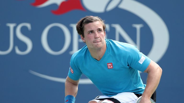 Gordon Reid was one of the players who shared his disappointment at the inital decision to omit the wheelchair tournament from the 2020 competition