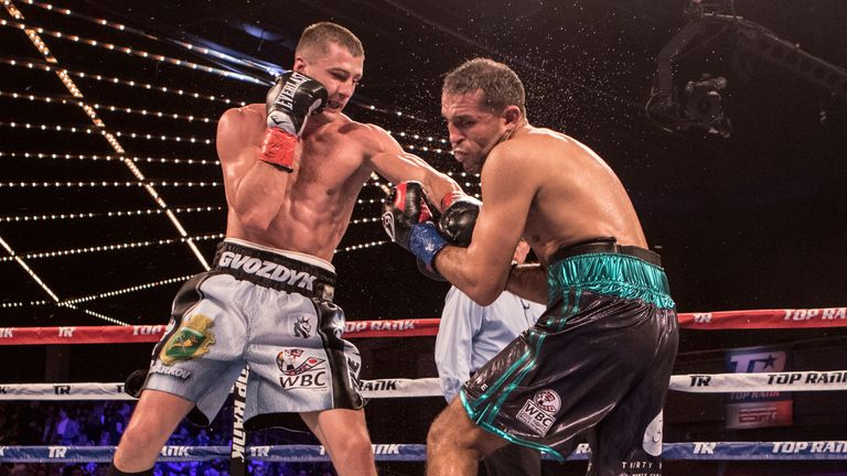 Gvozdyk won his first 17 fights in a five-year span