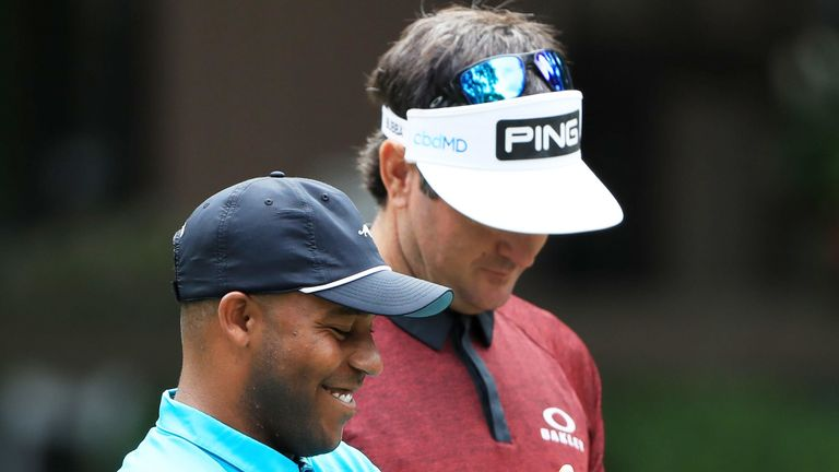 Bubba Watson and Harold Varner III will be teammates for the charity competition