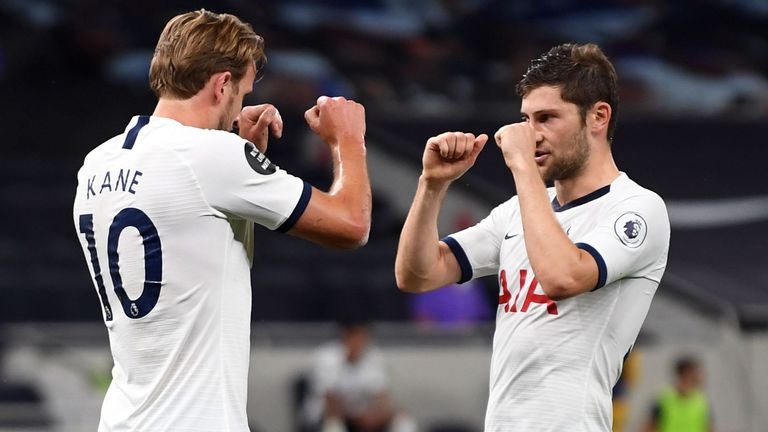 Spurs have drawn with Manchester United and beaten West Ham since the season resumed