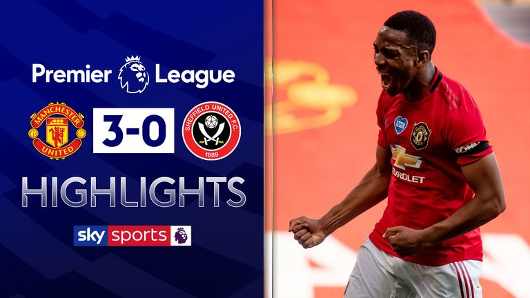 FREE TO WATCH: Highlights of Manchester United's win over Sheffield United
