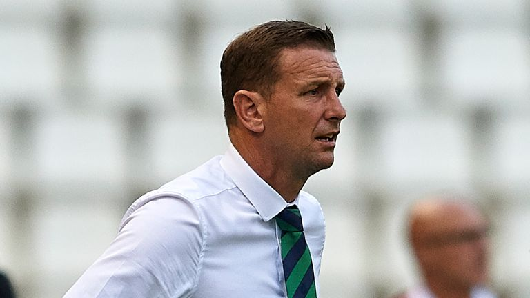 Ian Baraclough is currently Northern Ireland U21 manager